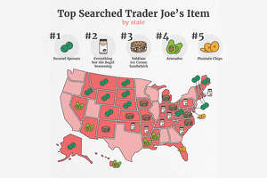 """This is the second year that Workwise, a customer relationship management company, has taken a look at the Trader Joe's search data saying it wanted to see """"which products are still inspiring that sought after customer loyalty and which items have taken the throne this year."""""""
