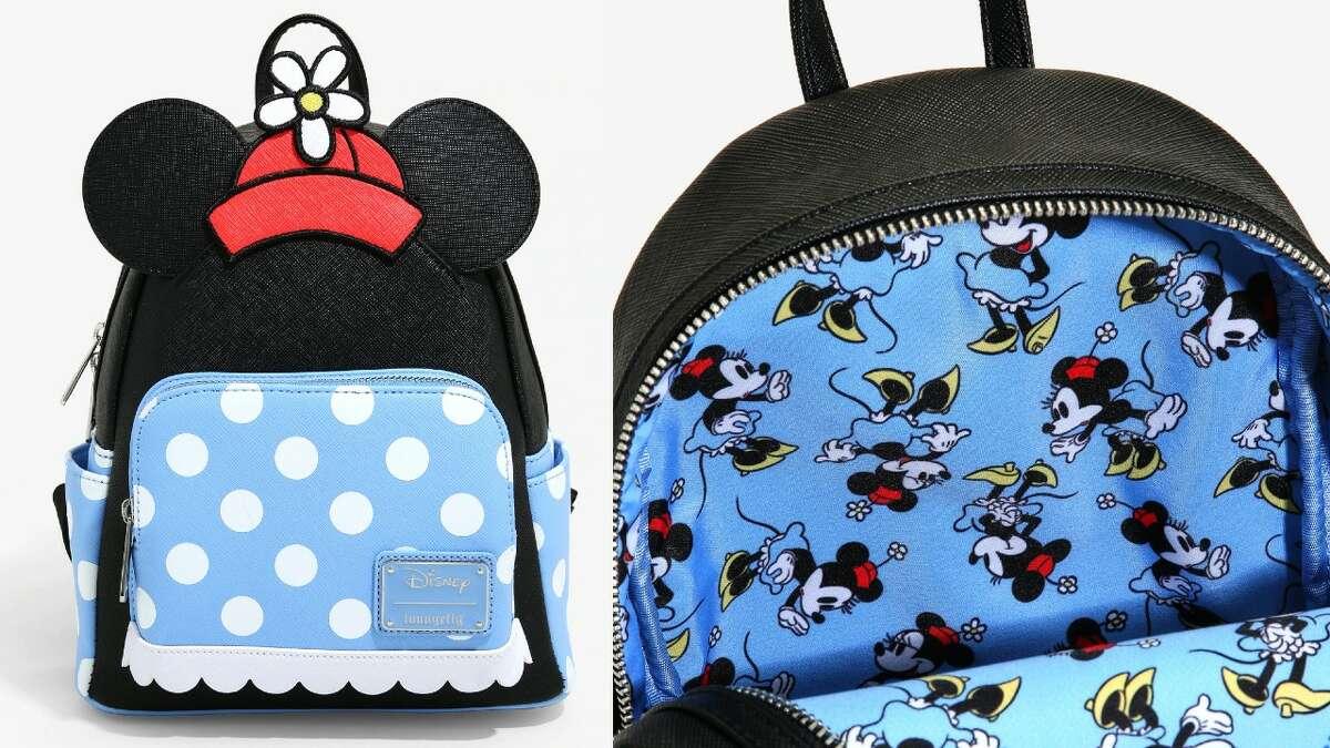 Loungefly Disney Minnie Mouse Polka Dot Mini Backpack, $74.90