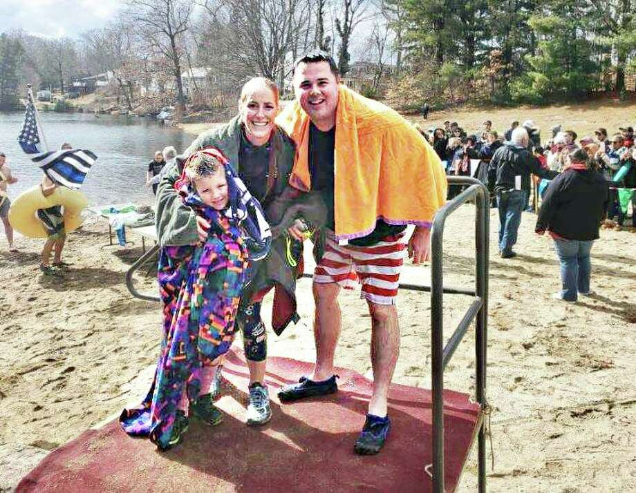 Members of the Middletown Police Department and their family members raised over $3,900 for the Special Olympics Connecticut during the annual Penguin Plunge Feb. 29 at the Polish Falcons Nest 519 on Prout Hill Road. Photo: Contributed Photo