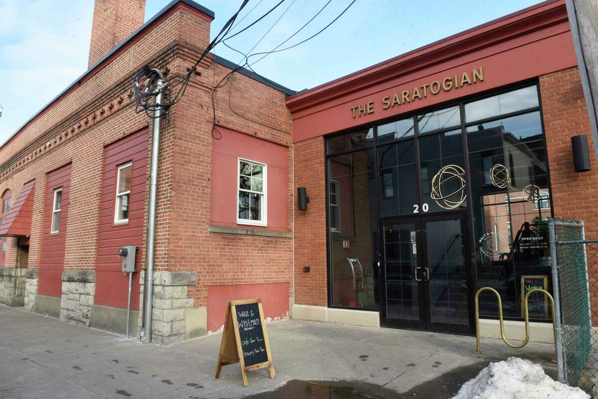 Exterior of Walt & Whitman on Tuesday, Feb. 25, 2020 in Saratoga Springs, N.Y. (Lori Van Buren/Times Union)