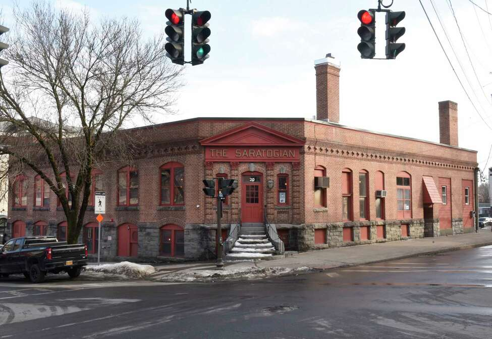 Exterior of Walt & Whitman on Tuesday, Feb. 25, 2020 in Saratoga Springs, N.Y. (Lori Van Buren/Times Union)