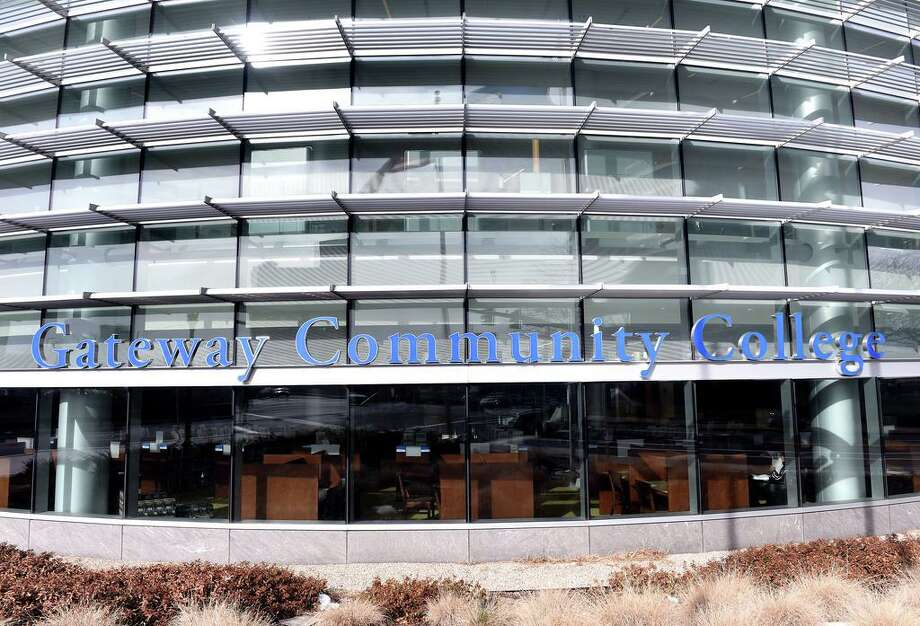 (Arnold Gold-New Haven Register) Gateway Community College in New Haven photographed on 1/21/2015.
