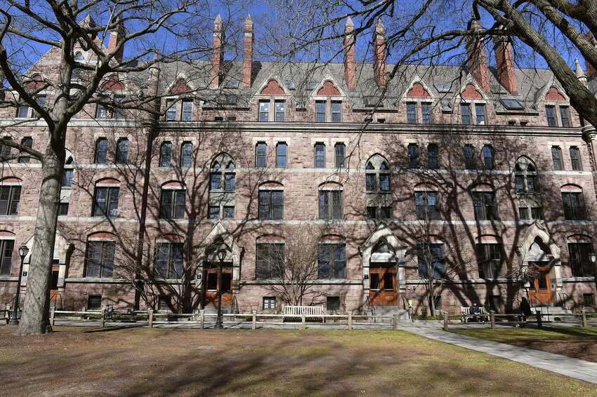 Yale University's Durfee Hall on Old Campus in New Haven, Conn.