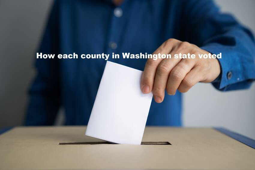 Keep clicking to see each Washington county and how it voted in the March 10, 2020 primary...