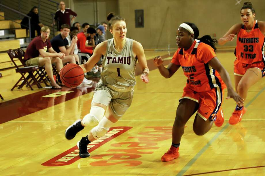 Patrycja Jaworska led TAMIU with 13.3 points per game and 74 total assists in her junior season. Photo: Derly Moreno /TAMIU Athletics File