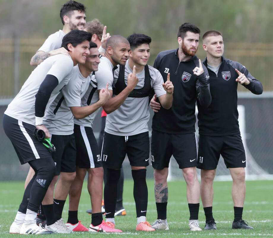 Jose Gallegos practices with San Antonio FC at the Star Soccer Complex on Feb. 4, 2020. Photo: Tom Reel, San Antonio Express-News / Staff Photographer / **MANDATORY CREDIT FOR PHOTOG AND  SAN ANTONIO EXPRESS-NEWS/NO SALES/MAGS OUT/TV