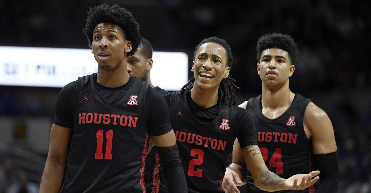 Caleb Broodo Houston Cougars Basketball Jersey - Black