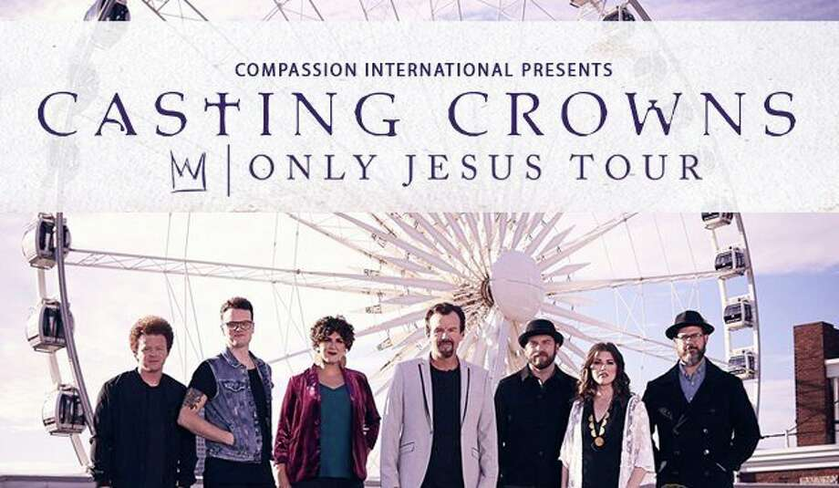 Friday, March 6: Casting Crowns brings its widely popular Only Jesus Tour to The Dow Event Center in Saginaw. Special guest is Matthew West. (Photo provided/Dow Event Center)