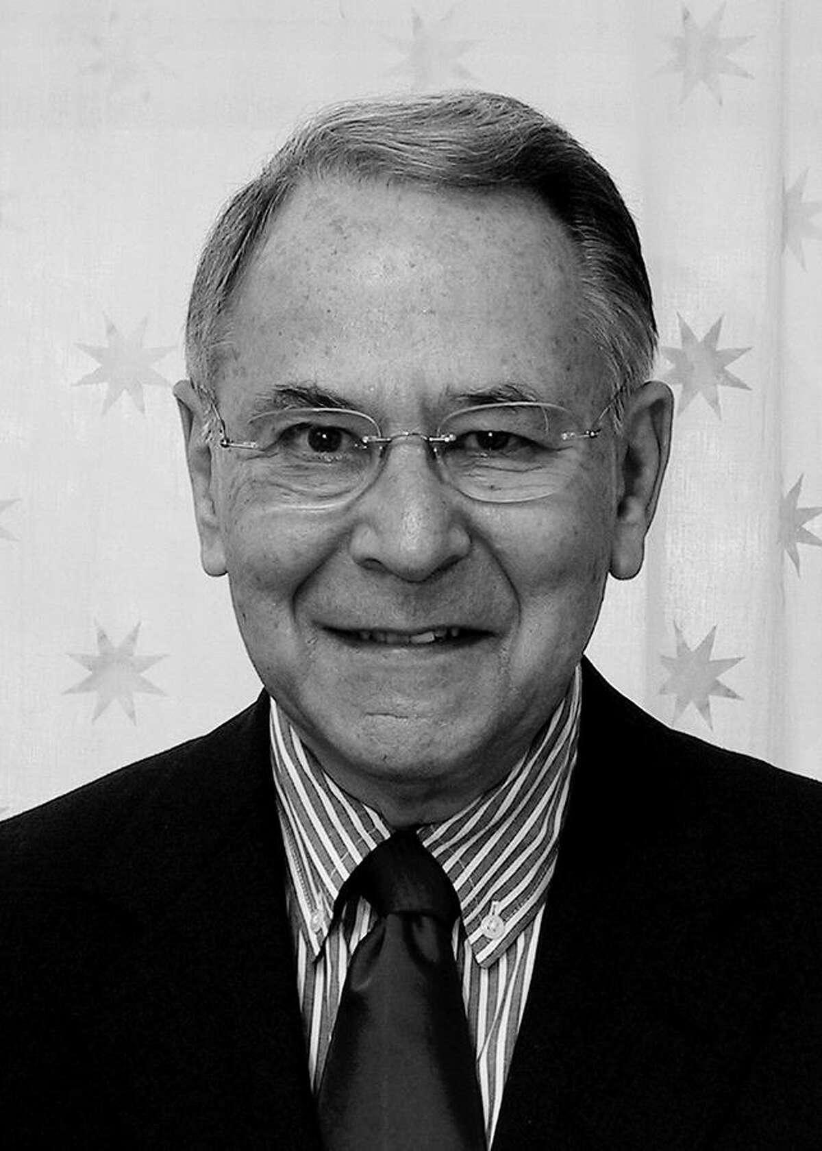 "Woodrow ""Woody"" Klein, columnist and former editor of the Westport News. Westport CT. September 1012."