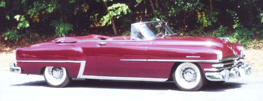 The 1953 Chrysler New Yorker Deluxe convertible , one of only 950 made, had been purchased new by an embassy in the nation's capital. The base price was $3,945.