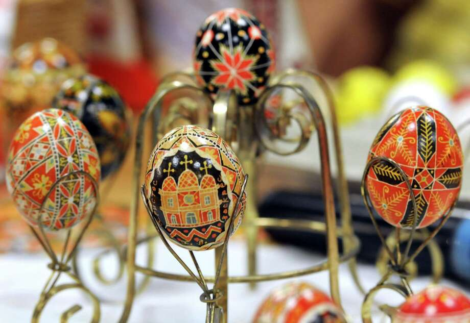 Wilton Historical Society is offering a workshop on Ukrainian Easter egg decorating, known as pysanky, on April 24. Photo: /