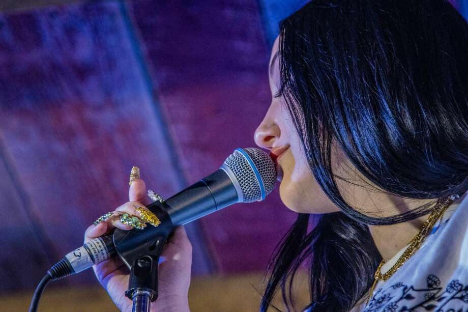 Noah Cyrus performed an exclusive concert put on by Star 99.9 at Little Pub in Fairfield on March 5, 2020. Photo: Steve Soyland/Star 99.9