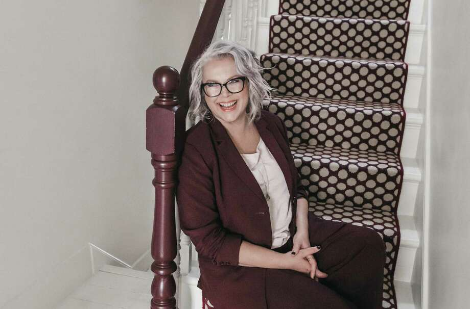 """British blogger Kate Watson-Smyth has written a new design book, """"Mad About The House,"""" building on a previous book and answering common questions about home interiors. Photo: Rekha Damhar"""