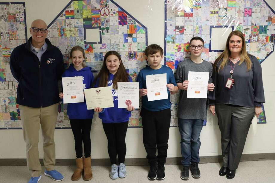 Har-Bur Middle School Students were recently honored with the Prudential Spirit of Community Award. Photo: Contributed Photo