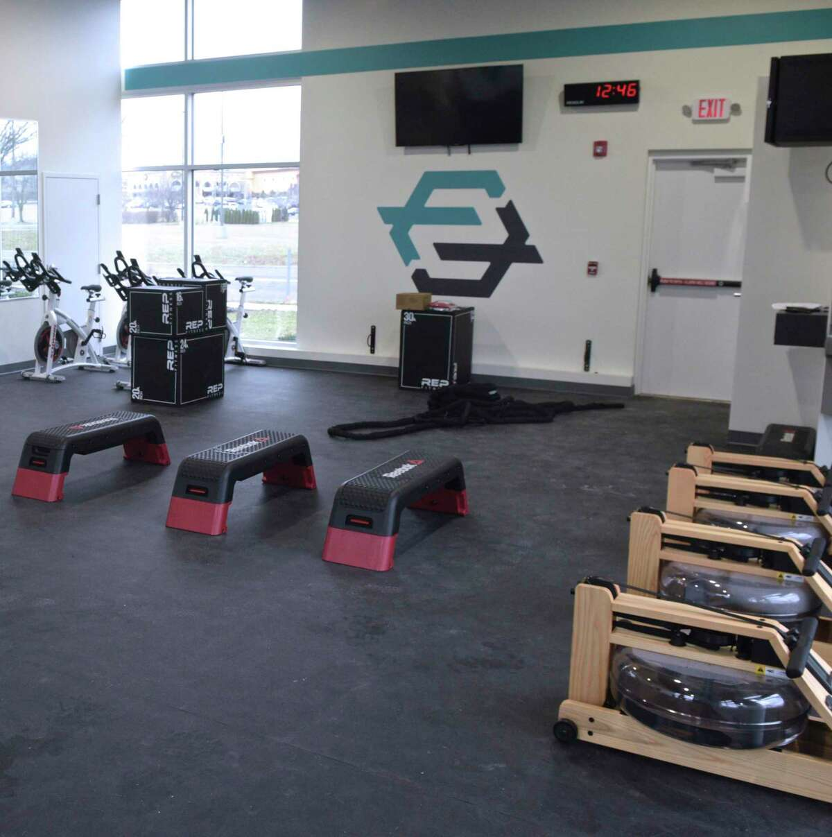 FluxFit a new fitness gym opening Saturday in Danbury, Conn. Friday, March 6, 2020.