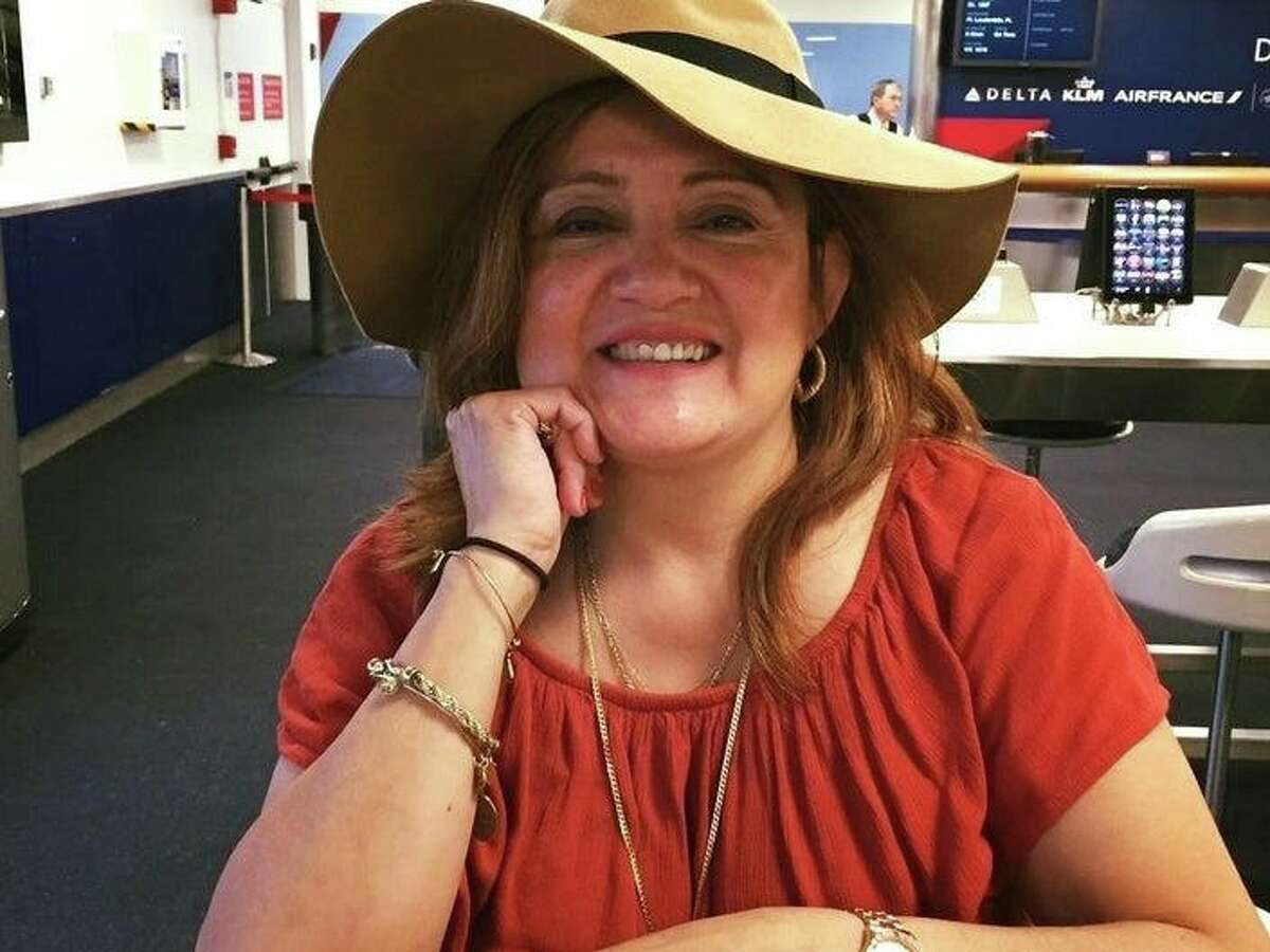 Nancy Flores, 61, who was struck and killed by a car being driven by Courtney Sabia while Flores was crossing Tresser Boulevard next to Government Center in Stamford on Nov. 13.