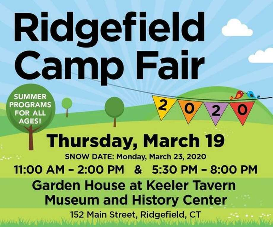 The Ridgefield Camp Fair will be held March 19, at Keeler Tavern Museum and History Center. Photo: Contributed Photo