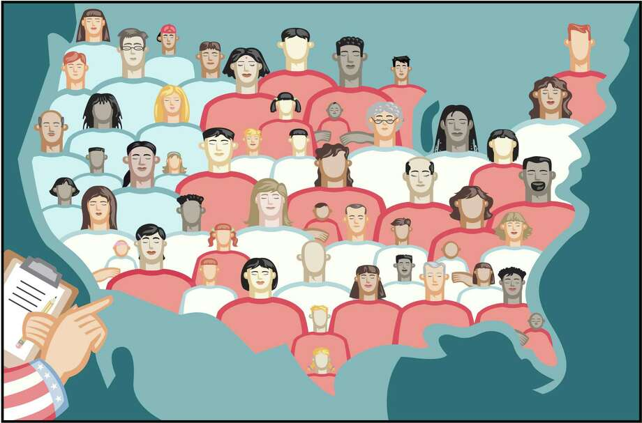 illus for oped on census Photo: Getty Images / Getty Images / Teresanne Russell