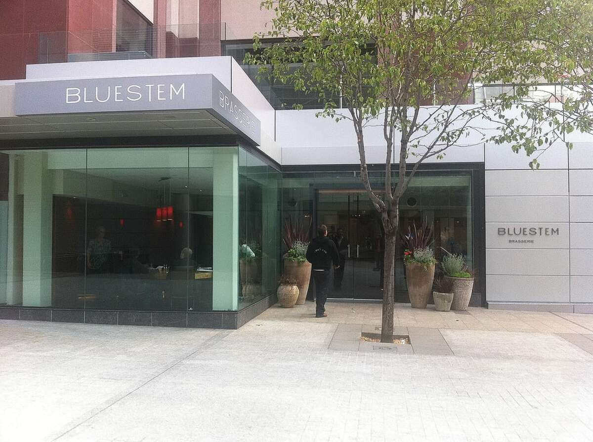 Stacy Jed, the owner of Bluestem Brasserie in downtown San Francisco, said her restaurant has experienced large parties canceling their reservations, due to conferences being canceled and companies pulling back on travel.