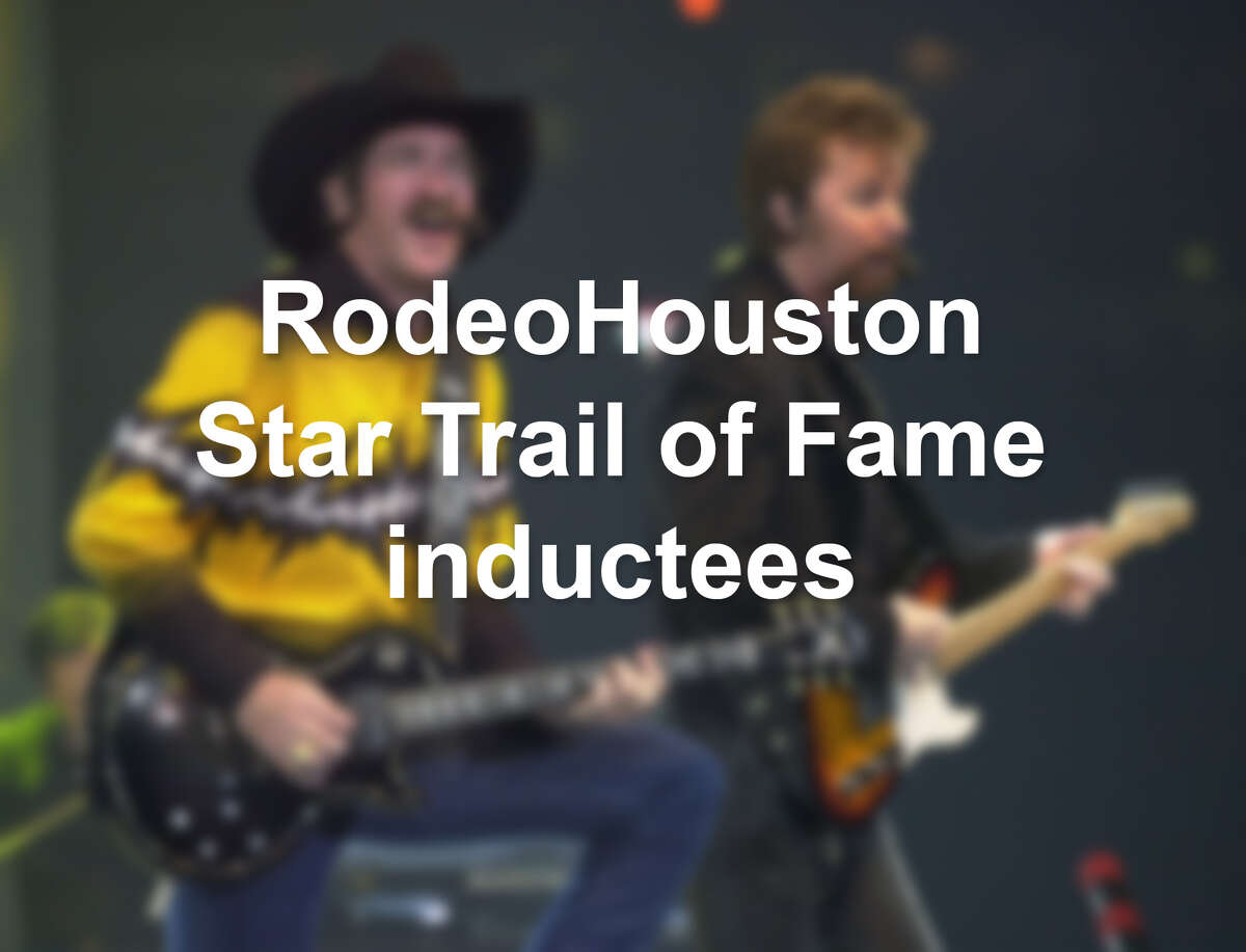 See the other RodeoHouston Star Trail of Fame inductees in the photos that follow. Information courtesy RodeoHouston.