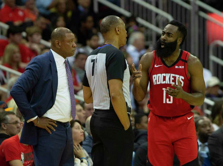 The Rockets and James Harden, arguing with referee Rodney Mott in Thursday's loss to the Clippers, know there is little room for error down the stretch.