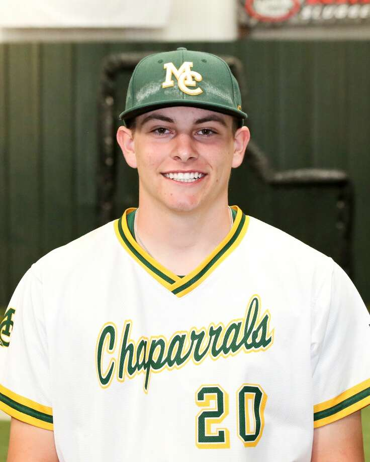 Midland College baseball player Ethan Mann Photo: Midland College Athletics