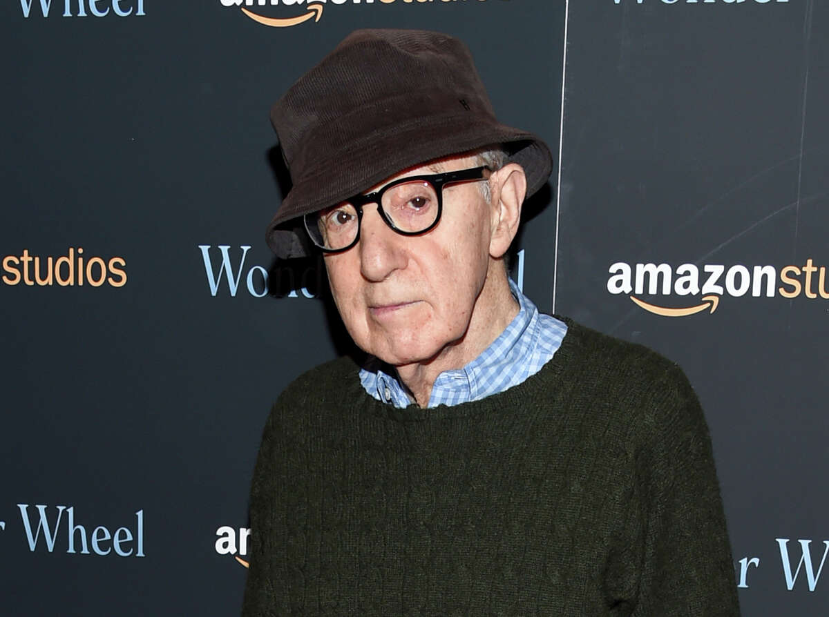 """FILE - In this Nov. 14, 2017 file photo, director Woody Allen attends a special screening of """"Wonder Wheel"""" in New York. A memoir by Allen, """"Apropos of Nothing,"""" will be released by Grand Central Publishing on April 7. (Photo by Evan Agostini/Invision/AP, File)"""