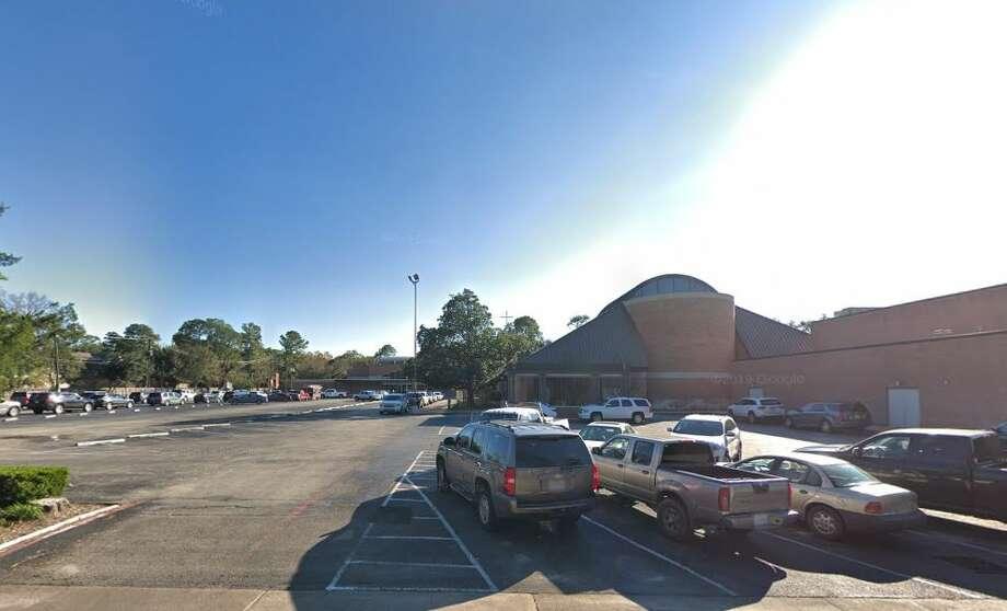 Google Street View of St. Cecelia Catholic Church in Houston. Photo: Google Maps