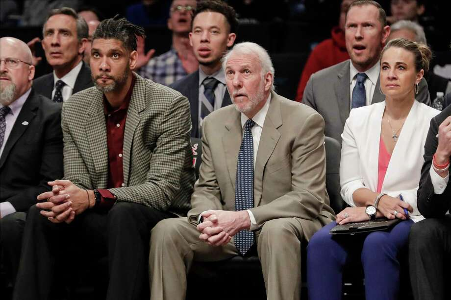 ESPN analyst floats Gregg Popovich as a candidate for the Brooklyn Nets  head coach opening - San Antonio Express-News