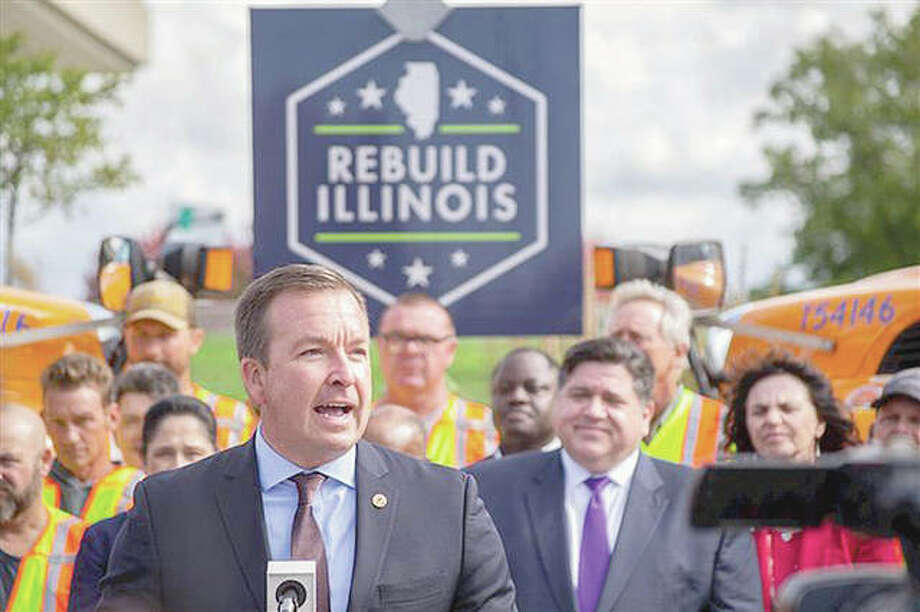 Sen. Andy Manar, D-Bunker Hill, said in November that he would push for passage of a bill to make Daylight Saving Time permanent in Illinois beginning this year. Photo: Jerry Nowicki | Capitol News Illinois