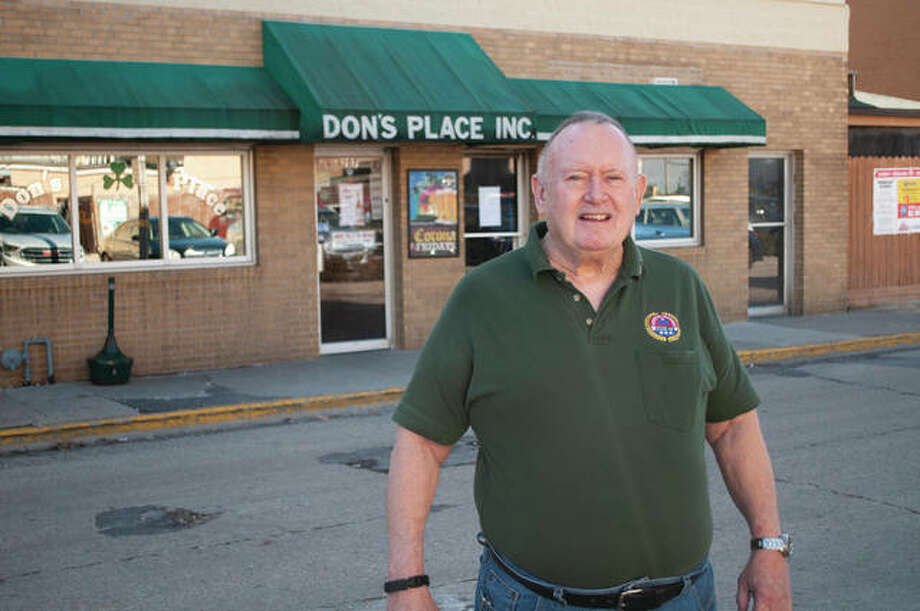 AmVets Post 100 commander Jim Duncan will be the St. Patrick's Day Parade marshal on March 14. Photo: Darren Iozia | Journal-Courier