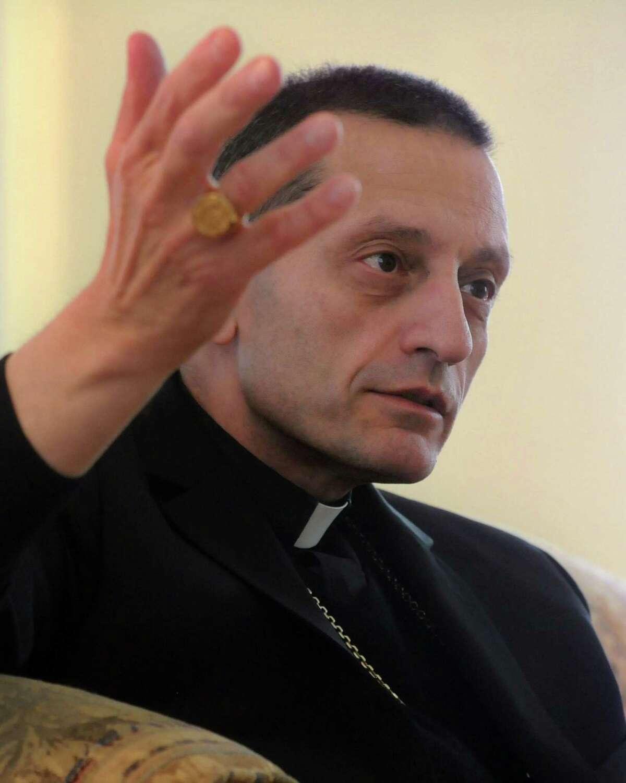 Bridgeport Bishop Frank J. Caggiano.