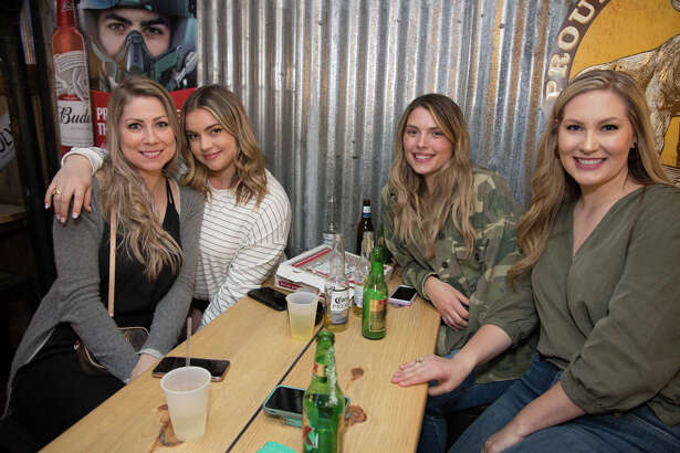 San Antonians gathered at the grand opening of Bentley's Beer Garden on Friday, March 6, 2020 located downtown.