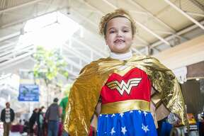 Hundreds of people attend Midland's first Comic Con Saturday, March 8, 2020 at Midland Mall. (Katy Kildee/kkildee@mdn.net)