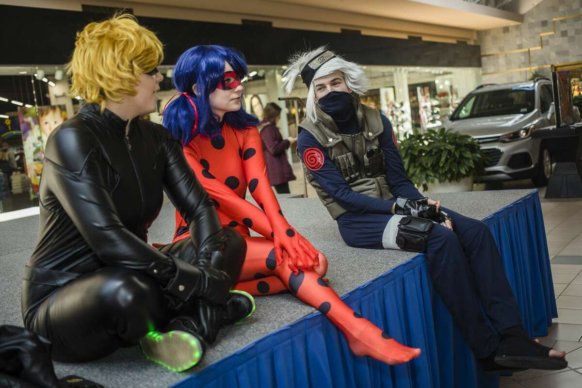 Hundreds of people attend Midland's first Comic Con Saturday, March 7, 2020 at Midland Mall. (Katy Kildee/kkildee@mdn.net)
