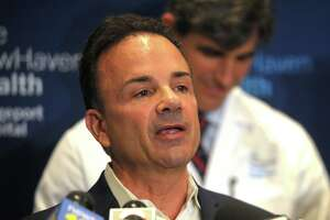 Mayor Joe Ganim said in his Thursday briefing that staff cuts were being looked into.