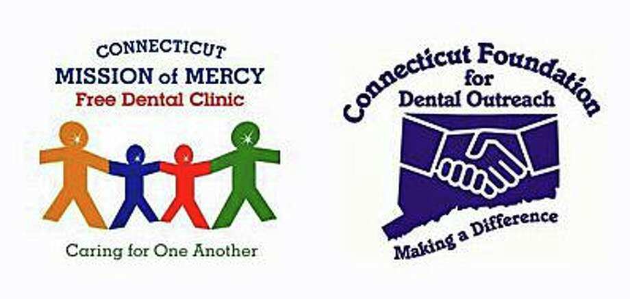 The logos for CT Foundation for Dental Outreach and CT Mission of Mercy free dental clinic. Photo: Contributed Photo