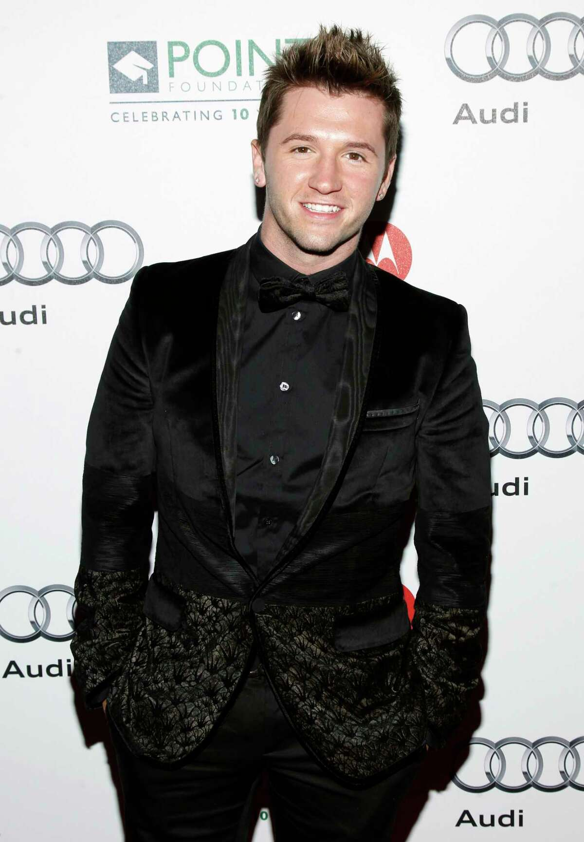 COMMERCIAL IMAGE - In this photo taken by AP Images for Point Foundation, Travis Wall is seen at Point Honors 10th Anniversary Gala on Saturday, Sept. 24, 2011, in Los Angeles. (Joe Kohen/AP Images for Point Foundation)