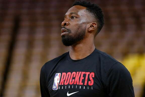 SAN FRANCISCO, CALIFORNIA - FEBRUARY 20: Jeff Green warms up before the game against the Golden State Warriors at Chase Center on February 20, 2020 in San Francisco, California. NOTE TO USER: User expressly acknowledges and agrees that, by downloading and/or using this photograph, user is consenting to the terms and conditions of the Getty Images License Agreement. (Photo by Lachlan Cunningham/Getty Images)