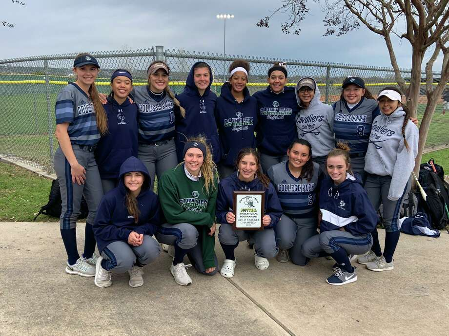 The College Park Lady Cavaliers softball team won the Burnet Tournament on Saturday, March 7, 2020. Photo: Photo Submitted