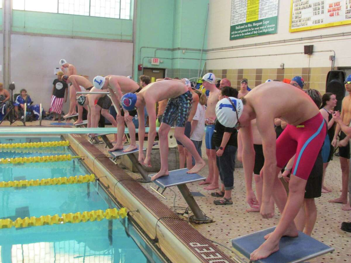Northwestern dominated the Berkshire League Championships with wins in the first seven events Saturday afternoon at Kennedy High School.