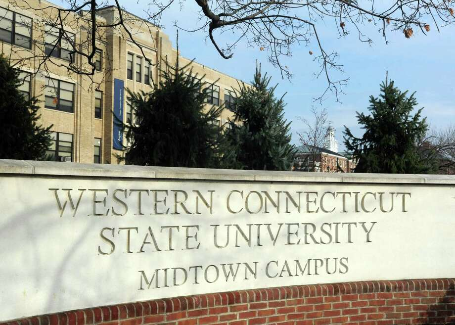File photo of Western Connecticut State University's Midtown campus at 181 White Street in Danbury, Conn. Photo: Hearst Connecticut Media File Photo / The News-Times