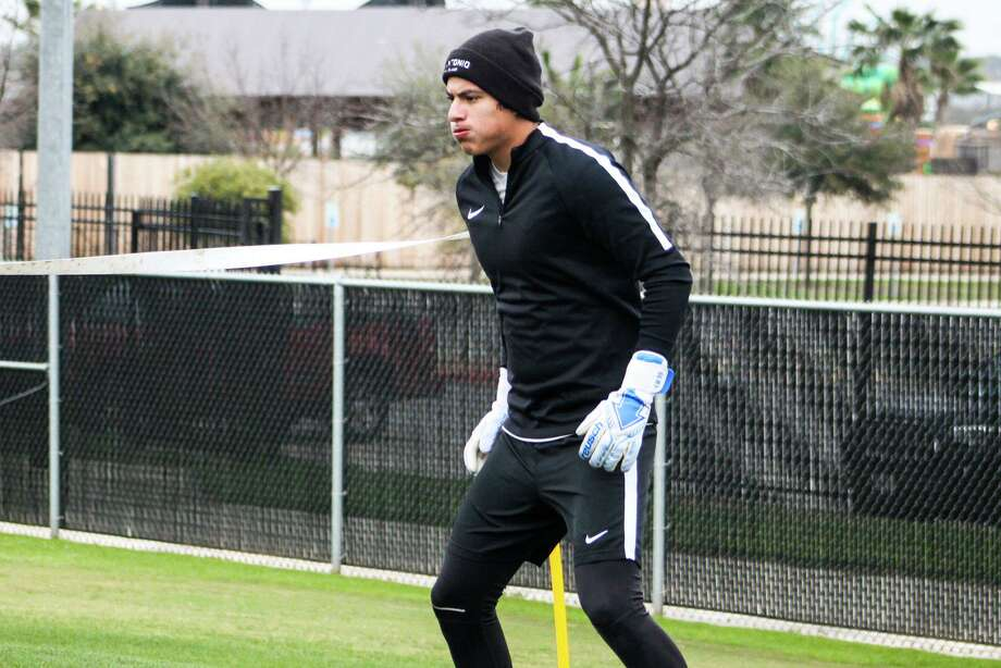 Laredo native and former UIW goalkeeper Carlos Mercado signed with San Antonio FC of the USL Championship League Saturday. Photo: Courtesy Of San Antonio FC