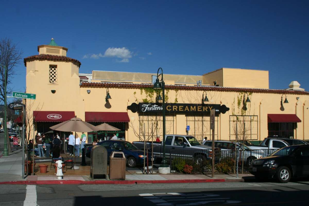 . . . is Fentons Creamery in Oakland. Russell briefly mentions Fentons to Carl on their aerial journey and at the end of