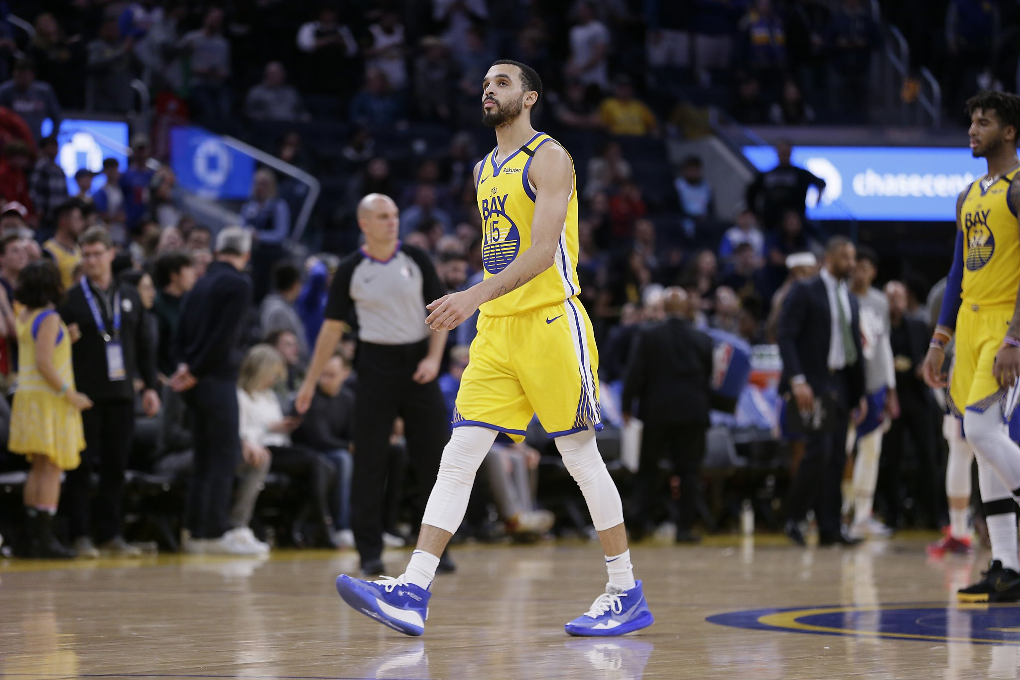 Warriors: Mychal Mulder to sign 2nd deal; Steph Curry remains out with flu