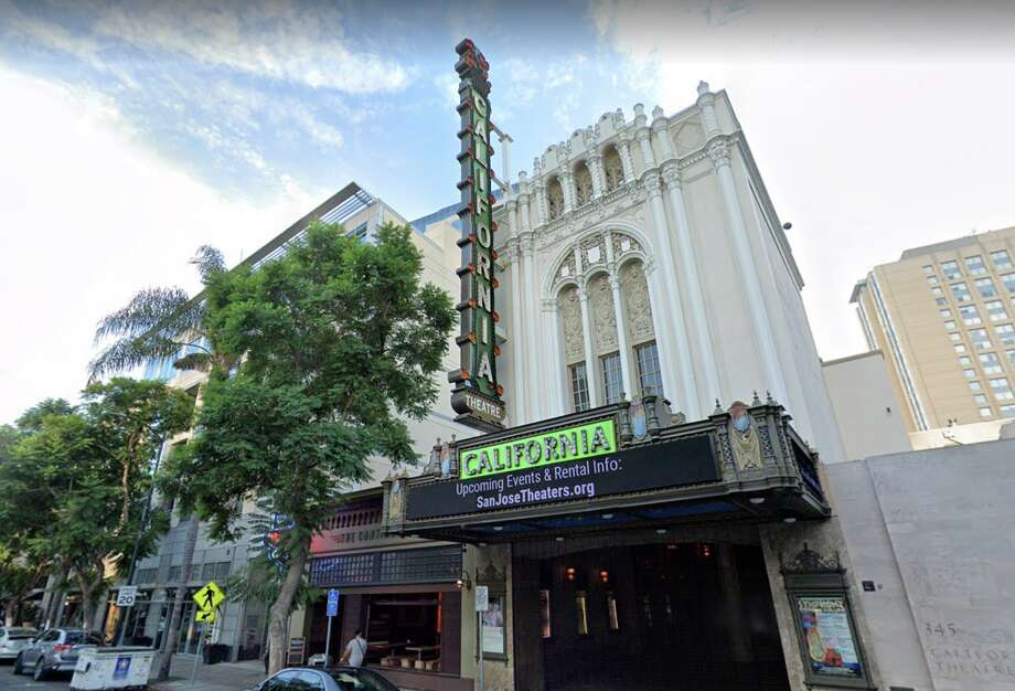 The California Theatre, a historic movie house that serves as one of the venues for Cinequest Film & Creativity Film Festival in San Jose. The second week of the festival has been postponed due to coronavirus concerns. Photo: Google Maps