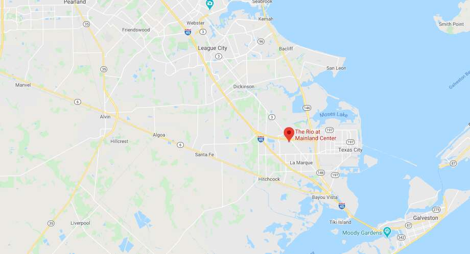 An elderly couple was found fatally shot Sunday in an apparent murder-suicide at a nursing home in Texas City, according to police. Photo: Google Maps