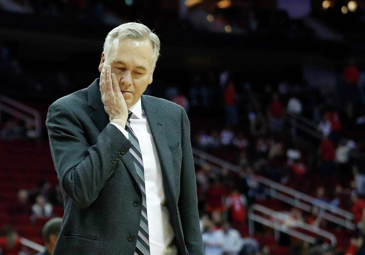Sunday's 126-106 home loss to Orlando was quite unsettling for Rockets coach Mike D'Antoni.