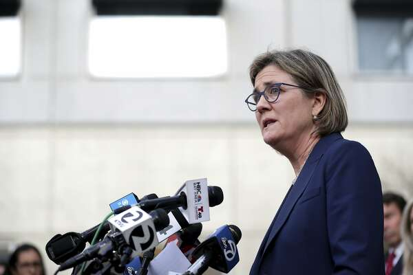 Santa Clara County Public Health Department Director Dr. Sara Cody speaks during a news conference in San Jose, Calif., on Friday, Feb. 28, 2020. Santa Clara County health officials confirmed a second case of unknown origin of the novel coronavirus. (Anda Chu/Bay Area News Group via AP)