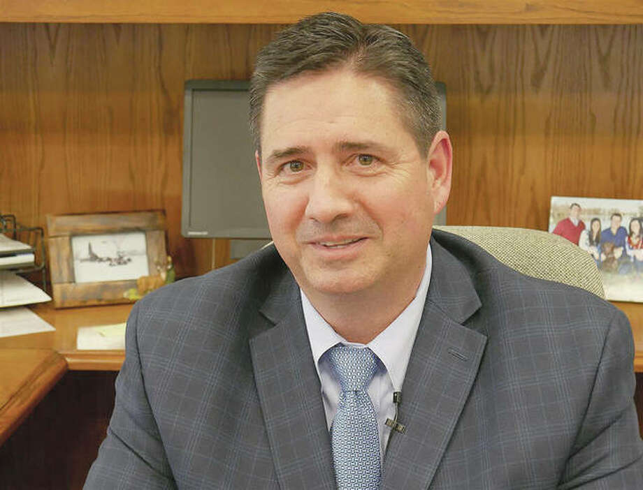 Jerry Costello II, newly appointed director of the Illinois Department of Agriculture, says mitigating flooding concerns and improving rural broadband access are priorities. Photo: Ben Orner | Capitol News Illinois